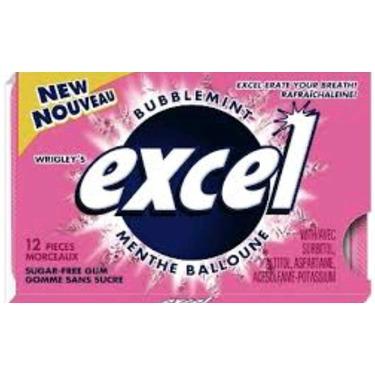 Excel bubble mint gum