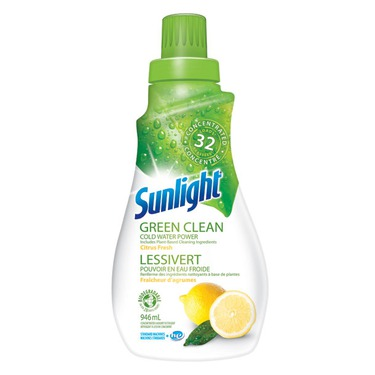 Sunlight Green Clean Laundry Detergent