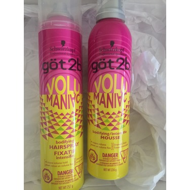got2b Volumaniac Bodifying Mousse