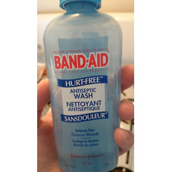 Band-Aid Hurt Free Antiseptic Wash