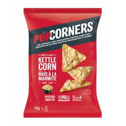 Popcorners Sweet and Salty Kettle Corn Popped Corn Chips