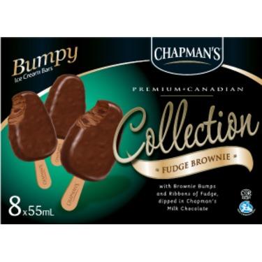 Chapman's Collection fudge brownie bumpy bars