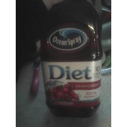 Ocean spray diet cran-cherry