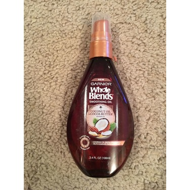 Garnier Whole Blends Smoothing Oil