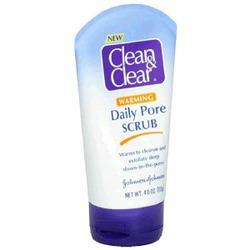 Clean & Clear Daily Pore Scrub, Warming