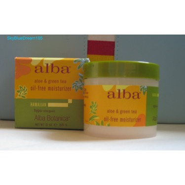 Alba Botanica Hawaiian Aloe & Green Tea Oil-Free Moisturizer
