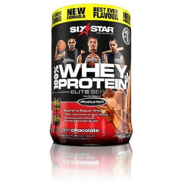 Six Star Elite Series Whey Protein Plus Triple Chocolate Powder