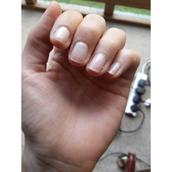 Essie nail lacquer in Ballet Slippers