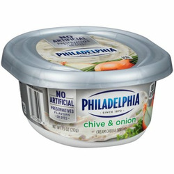Philadelphia Light Chive & Onion Cream Cheese