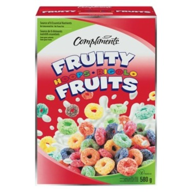 Compliments Fruity Hoops