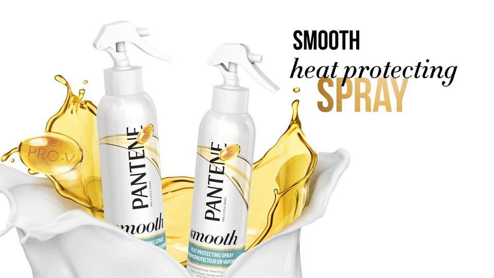 how to use hair heat protection spray