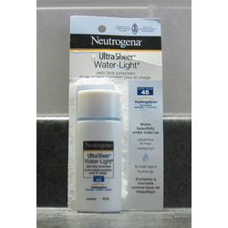 Neutrogena Ultra Sheer Water-Light Daily Face Sunscreen SPF 45
