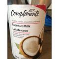 lait de coco compliment