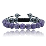 Bling Toman Shamballa-esk Bracelet in 6 Colors