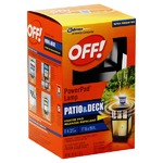 Off! PowerPad Mosquito Repellant Lamp