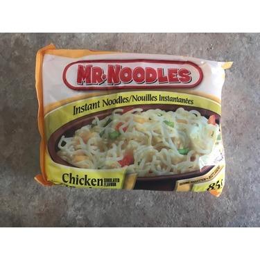 Mr. Noodles chicken flavor