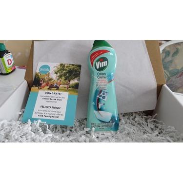 Vim Cream Cleaner with Bleach