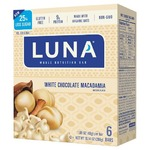 luna white chocolate macadamia nut protein bar
