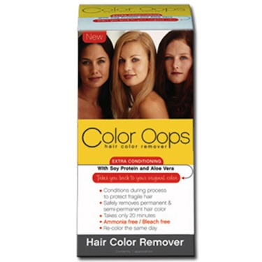 Color Oops Extra Conditioning Hair Color Remover Reviews In Hair