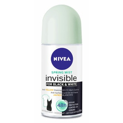 Nivea Gel Invisible for Black & White, Spring Mist Deodarant