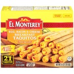 El Monterey Breakfast Taquitos