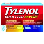 Tylenol Cold + Flu Severe Day/Night Caplets