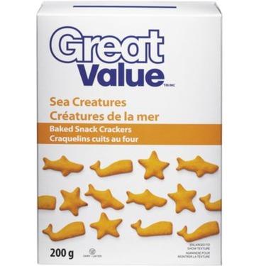 Great Value Sea Creatures