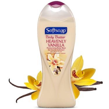 Softsoap heavenly vanilla bodywash