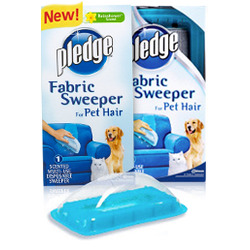 Pledge Fabric Sweeper for Pet Hair