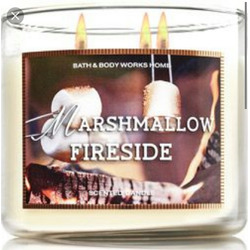 Bath and Body Marshmallow Fireside Candle