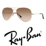 Ray-Ban Aviator, Polarized, Light Brown Sunglasses