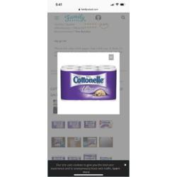 Cottonelle Ultra ComfortCare Toilet Paper, Bath Tissue