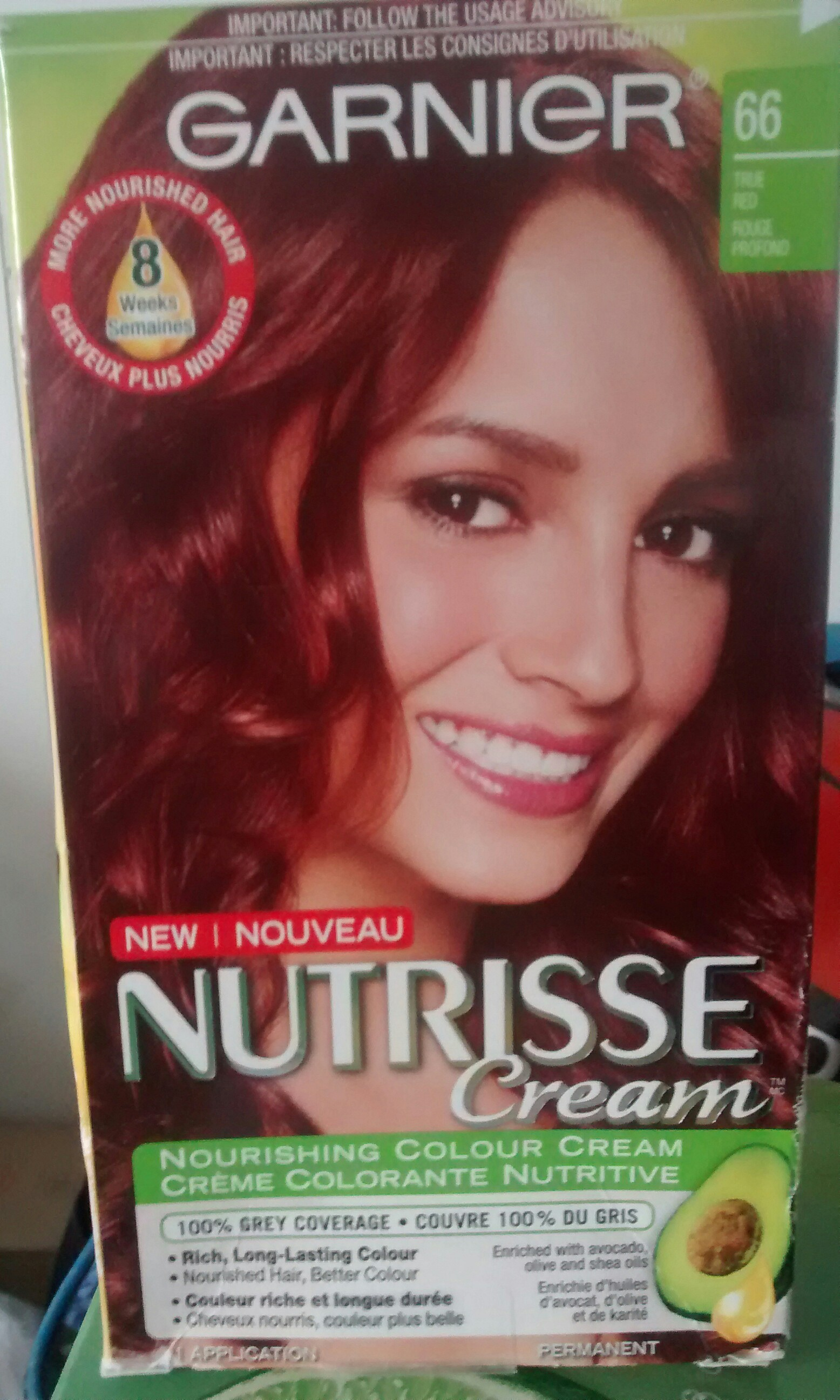 Garnier Nutrisse Nourishing Colour Cream Hair Color Reviews In Hair