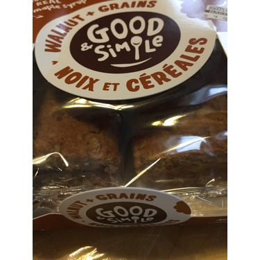 Good & Simple Walnut + Grains Bars