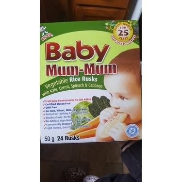 Baby Mum-Mum Vegetable Rice Rusks