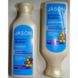 JASON Natural Biotin Shampoo and Conditioner