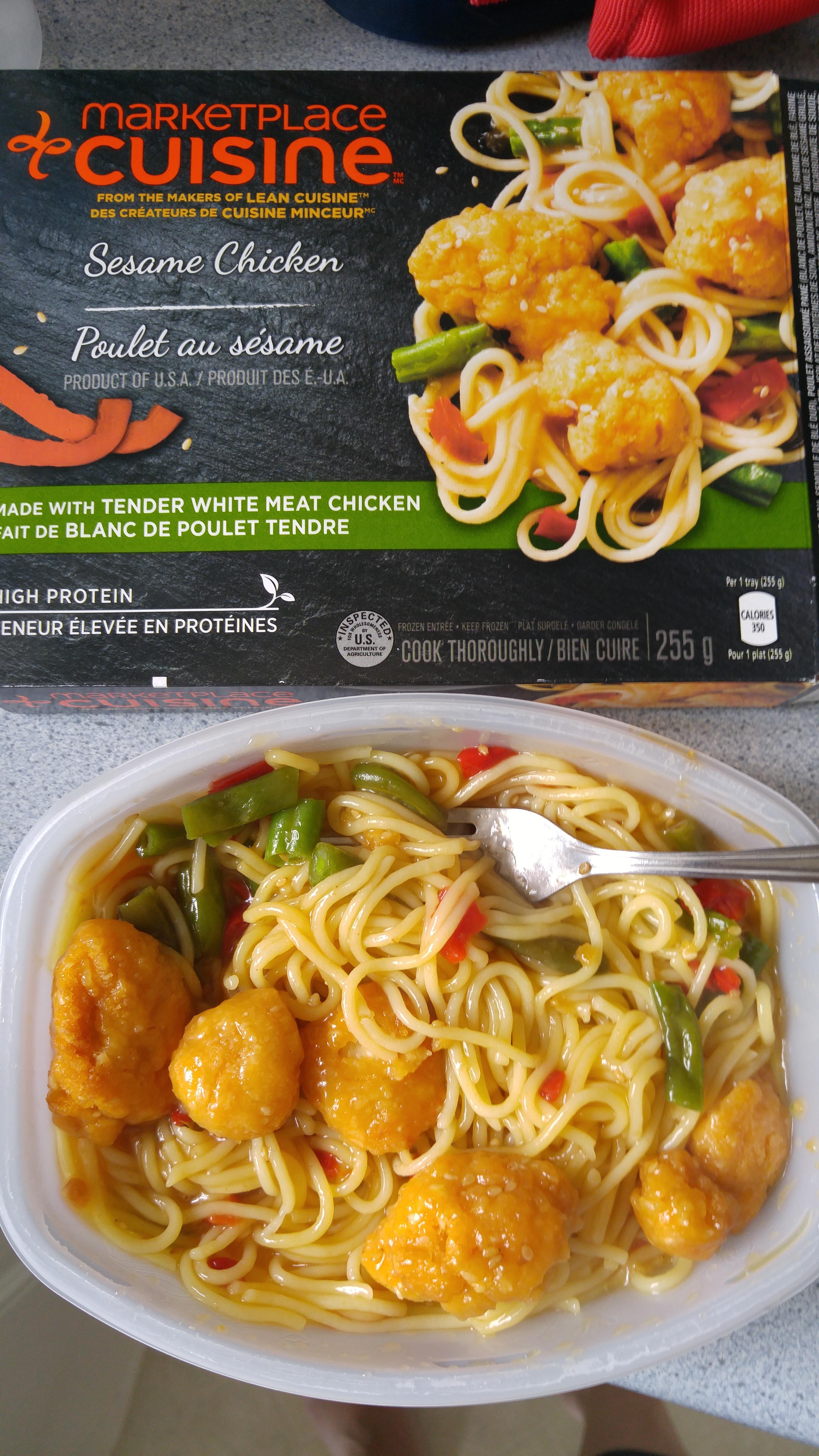 Image De Plat De Cuisine marketplace cuisine - sesame chicken reviews in frozen meals
