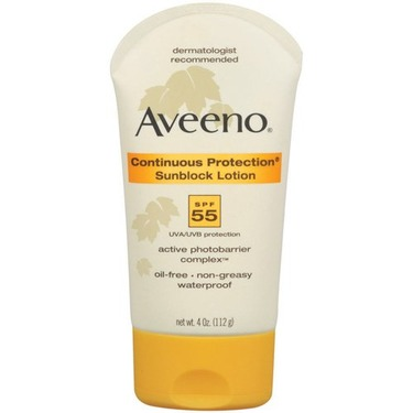 Aveeno Continuous Protection Sunblock Lotion