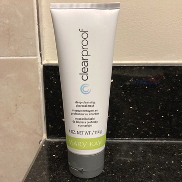 Mary Kay Clear proof Deep-Cleansing charcoal mask