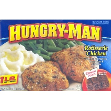 Swanson Hungry Man Rotisserie Chicken