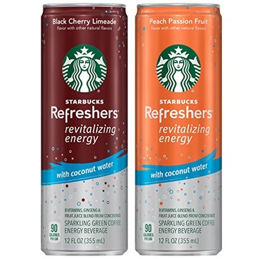 Starbucks Refreshers With Coconut Water Reviews In Soft Drinks