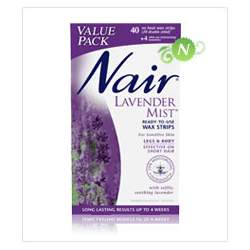 Nair Lavender Mist Wax Strips