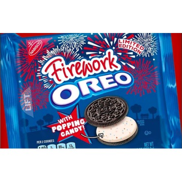 Oreo Firework Cookies