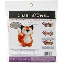Dimensions Crafts Needle Felting Kit - Fox