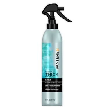 Pantene Pro-V Medium-Thick Hair Solutions Heat Protection and Shine Spray