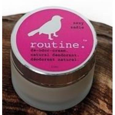 Routine De-Odor-Cream Natural Deodorant in Sexy Sadie Scent