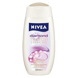 NIVEA Diamond Touch Shower Creme Oil
