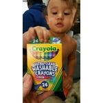 Crayola ultra clean crayons