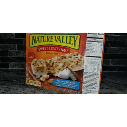 Nature Valley Sweet & Salty Granola Bars Toasted Coconut