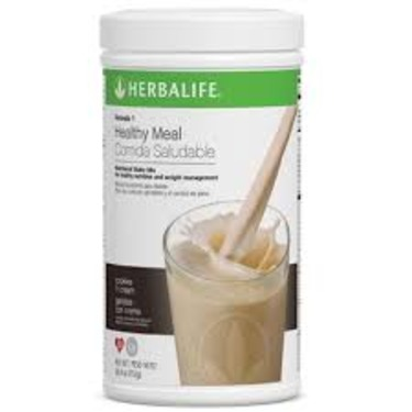 Cookies 'N Cream Herbalife Formula 1 meal replacement shake